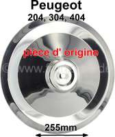 hub cap Peugeot 404,204,304 stainless steel original manufacturer! - 73428 - Der Franzose