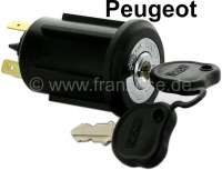 Ignition lock for Peugeot 403/404/504, without steering lock. Replica. - 73440 - Der Franzose