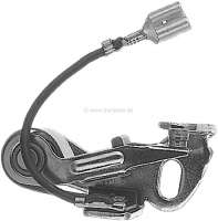 Paris Rhone, ignition contact. Suitable for Peugeot 404, of year of construction 1970 to 1973. Peugeot 504, from 1968 to 1975. Renault R4, starting from year of construction 1978. R5, starting from 1972. R12 starting from 1975. Or. No. 5927.30 + 7701200876 - 72675 - Der Franzose