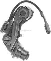 Paris Rhone, ignition contact. Suitable for Peugeot 504, starting from year of construction 1977. Peugeot 505, starting from 1980. The breaker point gap is adjustable by hexagon socket screw! Or. No. 5927.80 - 72676 - Der Franzose