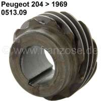 P 204, oil pump drive wheel, 11 teeth. Suitable for Peugeot 204, to salon 1969. Or. No. 0513.09. - 71332 - Der Franzose