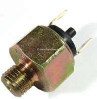 Stop light switch, mounts at the master brake cylinder. Thread: 7/16 x 20UNF. Suitable for Renault R4, of year of construction 1961 to 1970. Renault Estafette, R8, R10. Peugeot 204, of year of construction 1966 to 1969. Simca 1000. -2 - 84013 - Der Franzose