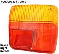 Rear light cap for Peugeot 304 Cabrio, small-batch replica - 74210 - Der Franzose