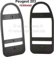 P 203, seal (2 item) tail lamp FERRAND. Suitable for Peugeot 203. - 75354 - Der Franzose