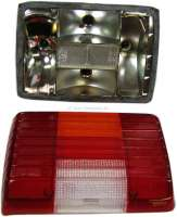 P104, tail lamp completely on the left of Peugeot 104 sedan starting  from 1981. Or.Nr.635025 -1 - 75192 - Der Franzose