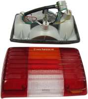 P104, tail lamp completely on the left of Peugeot 104 sedan starting  from 1981. Or.Nr.635025 - 75192 - Der Franzose