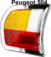 tail lamp camp left P 504 Limo 1970-1982 - 75084 - Der Franzose