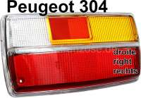 tail lamp cap, peugeot 302 right one part, Limousine, starting from Salon 1972 - 74277 - Der Franzose