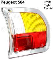 tail lamp cap right P 504 Limo 1970-1982 - 75085 - Der Franzose