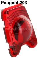 Taillight cap red for Peugeot 203 - 74003 - Der Franzose