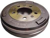 Drum for Peugeot 404, 504. 280mm diameters. Height totally 75mm, interior height 67mm, interior hole (mounting) 93mm. 5 hole rim. -2 - 74554 - Der Franzose