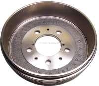 Drum for Peugeot 404, 504. 280mm diameters. Height totally 75mm, interior height 67mm, interior hole (mounting) 93mm. 5 hole rim. - 74554 - Der Franzose