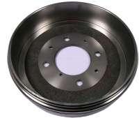Drum for Peugeot 404, 504. 280mm diameters. Height totally 81mm, interior height 67mm, interior hole (mounting) 93mm. 4 hole rim. -2 - 74555 - Der Franzose