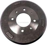 Drum for Peugeot 404, 504. 280mm diameters. Height totally 81mm, interior height 67mm, interior hole (mounting) 93mm. 4 hole rim. - 74555 - Der Franzose