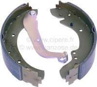 brake shoe set rear Peugeot 404,504, system Lucas, width 57mm, diameter 254mm -1 - 74161 - Der Franzose