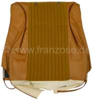 P 204, material Pain dore 2312 + vinyl Pain dore 3170. Seat in front on the left, backrest cover. Peugeot 204 salon starting from 1972. Or. No. 898276 - 78600 - Der Franzose