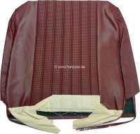 P 204, vinyl Rouge 3103, tubing network, backrest cover in front, Peugeot 204 Cabrio Coupé. Or.Nr.898266 - 78517 - Der Franzose