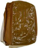 P 504, vinyls brown (centrically material Velour beige), backrest cover at the rear right, rear seat, Peugeot 504. Original Peugeot. Or.Nr.899436 - 78582 - Der Franzose