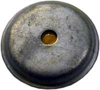 P 204/304, bearing plate above on the rear shock absorber, for Peugeot 204 + 304. Or.Nr. 522110 - 73574 - Der Franzose