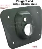 P 404, rubber seal, for the steering column in the interior. Suitable for Peugeot 404. Or. No. 4152.12 - 77823 - Der Franzose