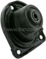 P 204/304, spring plate, rear above. Mounting of the shock absorber. Suitable for Peugeot 304 sedan. Peugeot 204, starting from chassis number: 9.064.001. Or. No. 5165.18 -1 - 73623 - Der Franzose