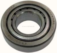 P 403/404/504/505, bearing for the jackshaft, rear (gearbox BA7). Suitable for Peugeot 403, Peugeot 404, Peugeot 504, Peugeot 505. Outside diameter: 47mm. Inside diameter: 21,5mm. Overall height: 16.25 mm. Or. No. 2372.11 -1 - 70744 - Der Franzose
