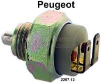switch for reverse gear Peugeot 204, 304, 404, 504, 203, 403, 504 V6 - 75120 - Der Franzose