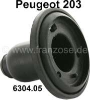 P 203, seal for indicator in front. Suitable for Peugeot 203. Or. No. 6304.05 - 75344 - Der Franzose