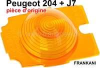 P 204/J7, turn signal cap lower part on the left. Suitable for Peugeot 204 + J7. - 74259 - Der Franzose