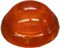 P 403, turn signal cap in front orange, without chrome trim, without  test characters! -1 - 75215 - Der Franzose