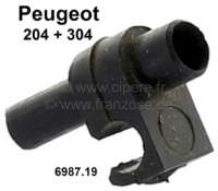 P 204/304, fixture for the disk water hose (synthetic). Suitable for Peugeot 204 + 304. Or. No. 6987.19 - 75340 - Der Franzose