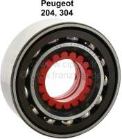 P 204/304, wheel bearing in front. Outside diameter: 80mm. Inside diameter: 40mm. Wide one: 30,2mm. Suitable for Peugeot 204, of year of construction 09/1968 to 1976. Peugeot 304, to year of construction 1980. Or. No. 3326.20 Made in Spain - 73310 - Der Franzose