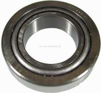 P 504/505/604, wheel bearing in front, interiorlaterally. Dimension: 32 x 58 x 17mm. Suitable for Peugeot 504, 505, 604. Talbot Togara. Or. No. 3730.17 Made in Spain - 73358 - Der Franzose