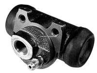 P 205, wheel brake cylinders at the rear left, Peugeot 205 without brake booster. Piston diameter 20,64mm. Brake system Bendix, brake line connector M12x1. Or.Nr.440267. Made in Europe. - 74604 - Der Franzose