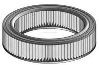 Air filter. Suitable for Renault Fuego (1,4L) + R18 (1,4L). Height: 51mm. Inside diameter: 240mm. Outside diameter: 298mm | 72353 | Der Franzose - www.franzose.de