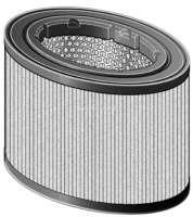 Air filter. Suitable for Renault R14 (R1210, R1212, R1213). Engine: 1218cc + 1360cc. Height: 168mm. | 72354 | Der Franzose - www.franzose.de
