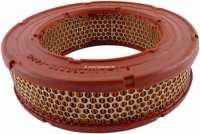 Air filter. Suitable for Renault R4, R5, R12. Outside diameter: 220mm. Inside diameter: 142mm. Amount: 62,3mm. - 82830 - Der Franzose