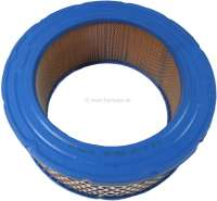 Air filter (system Lautrette, A196). Suitable for Renault R4 (1108cc), R1128, S128, R2370, 201B, 239B.  Renault R6, R8, Caravelle S, Estafette. Outside diameter: 200mm. Inside diameter: 145mm. Amount: 79mm. - 82062 - Der Franzose