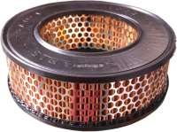 Air filter (system Lautrette). Suitable for Renault R4 (0,8L).  Outside diameter: 187mm. Inside diameter: 109mm. Amount: 62mm. - 82659 - Der Franzose