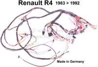 R4, main cable harness, suitable for Renault R4, from year of construction 1983 to 1992. Made in Germany. | 85363 | Der Franzose - www.franzose.de
