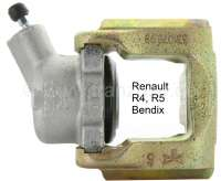 R4/R5, brake caliper front on the right (new part). Brake system Bendix. Suitable for Renault R4 + R5. Return of old-part not necessary. - 84342 - Der Franzose