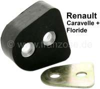 Caravelle/Floride, door stop rubber (Cheston). Suitable for Renault Floride + Caravelle. Per piece - 87758 - Der Franzose