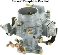 Carburetor, suitable for Renault Dauphine Gordini. Typ: Solex 34. Reproduction - 82471 - Der Franzose
