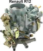 R12, carburetor (reproduction). Suitable for Renault R12. - 82475 - Der Franzose