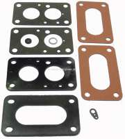 R16, carburetor sealing set SOLEX 32 MIMAT, 32 MIMSA. Suitable for Renault R16 + R18. - 82918 - Der Franzose