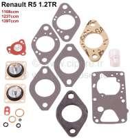 Carburetor repair set Solex 32 BIS. Suitable for Renault R5 1,2TR (1108cc, 1237cc, 1397cc). - 82879 - Der Franzose