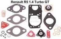 Carburetor repair set Solex 32 TO. Suitable for Renault R5 1.4 Turbo GT. - 82881 - Der Franzose