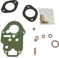 Carburetor repair set Weber. Suitable for Renault R4, Dauphine - 82539 - Der Franzose