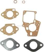 Carburetor sealing set Solex 32 EITA. Suitable for Renault R4 F4 + R4 F6. R5 TL. R6 TL. R12. Fuego TL-GTL - 82424 - Der Franzose
