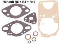 Carburetor sealing set Solex 32 PDIS. Suitable for Renault Renault 6, R8 + R10 - 82420 - Der Franzose